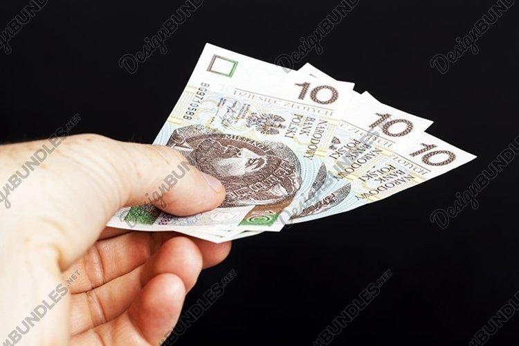 Polish money in cash example image 1