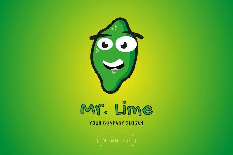 Lime Character Logo