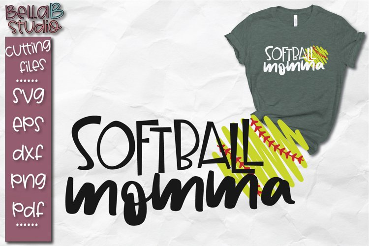 Baseball SVG, Softball SVG, Softball Momma SVG, Mom, Mama