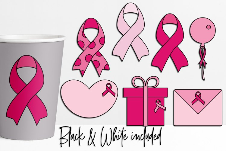 Pink Ribbon Day Illustrations and Graphics
