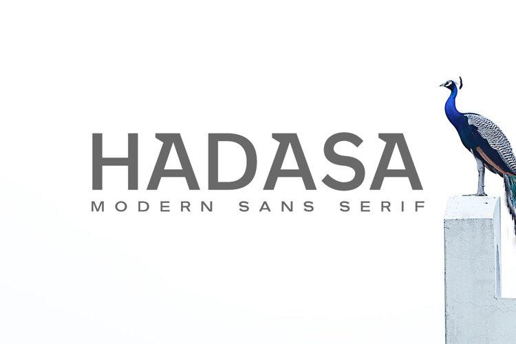 Hadasa Sans Serif Font Family example image 1