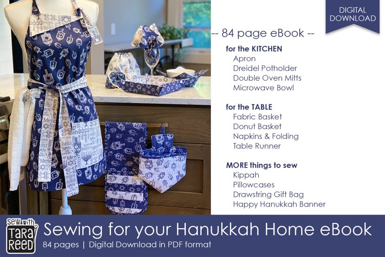 Sewing for your Hanukkah Home - 12 projects to sew