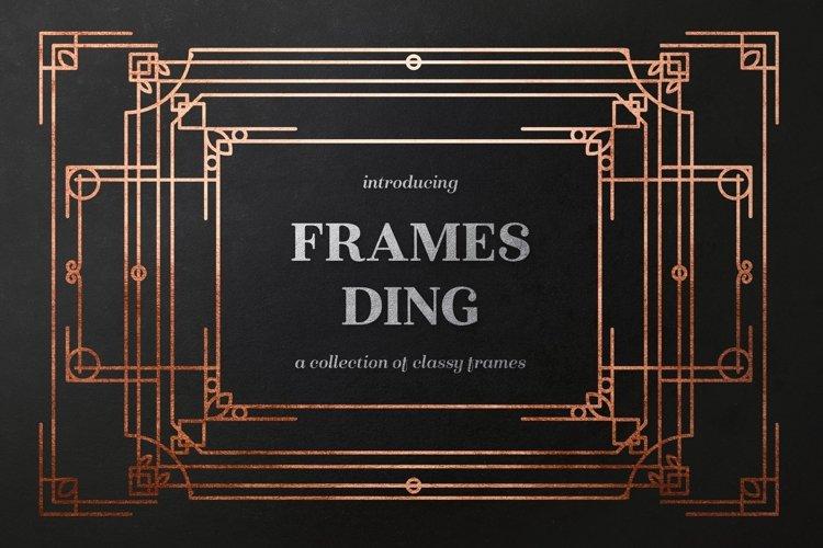 Web Font Frames Ding example image 1