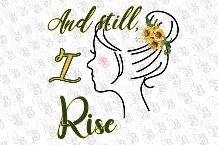 And Still I Rise, MAYA ANGELOU Quote PNG Clipart example image 1