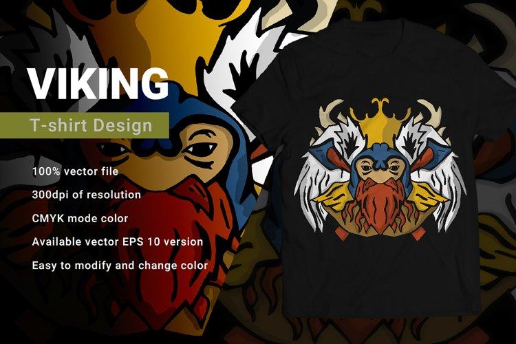 Viking | T-Shirt Design example image 1