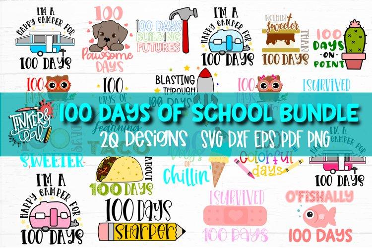 100 Days of School SVG Bundle