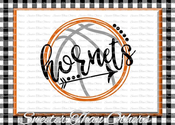 Basketball SVG, Hornets svg, Hornets Basketball svg example image 1