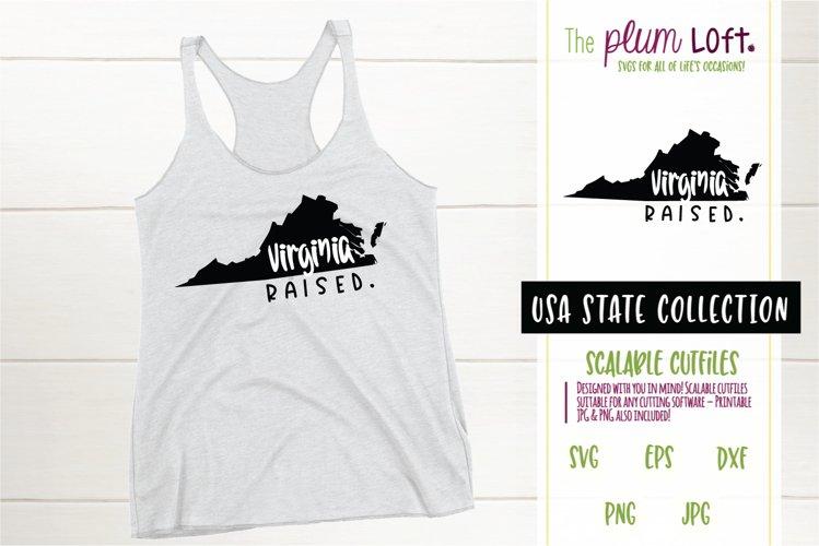 Virginia Raised - SVG design example image 1