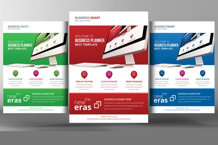 Creative Corporate Flyer Template example image 1