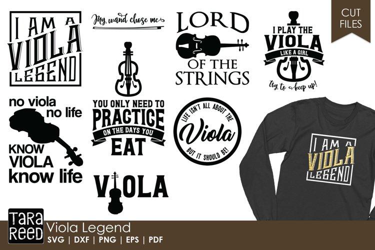 Viola Legend - Viola SVG & Cut Files for Crafters