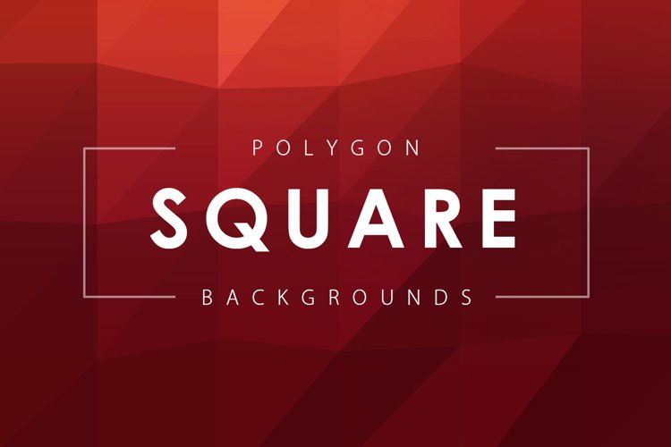 Square Polygon Backgrounds example image 1