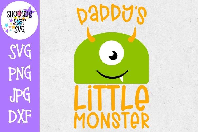Daddy S Little Monster Svg Monster Svg Halloween Svg 302104 Cut Files Design Bundles