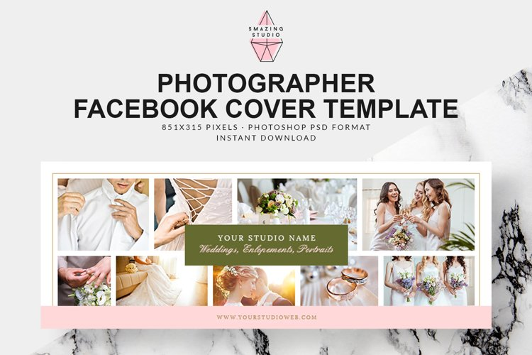 Photographer Facebook Cover Template - FBC010