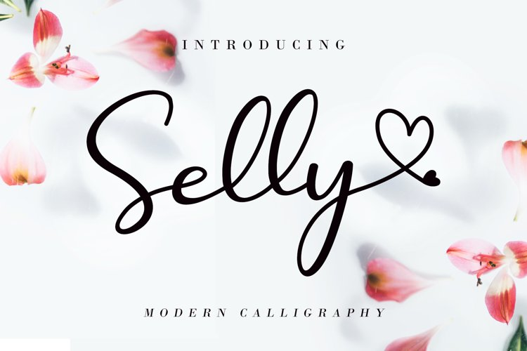 Selly Calligraphy example image 1
