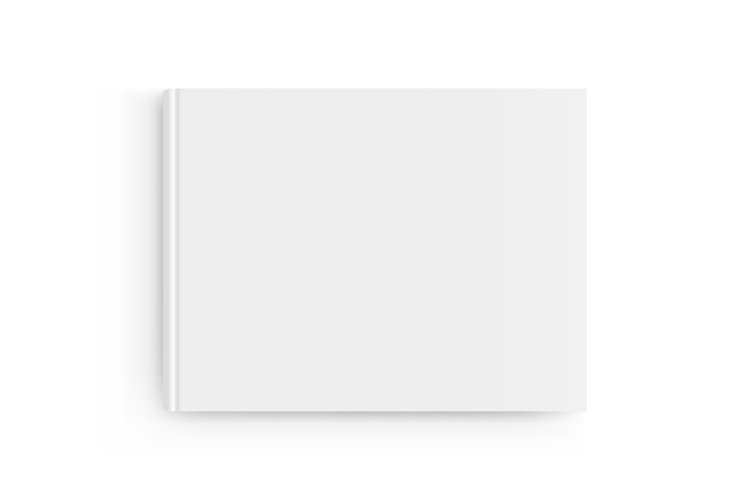 Rectangular book cover mockup example image 1