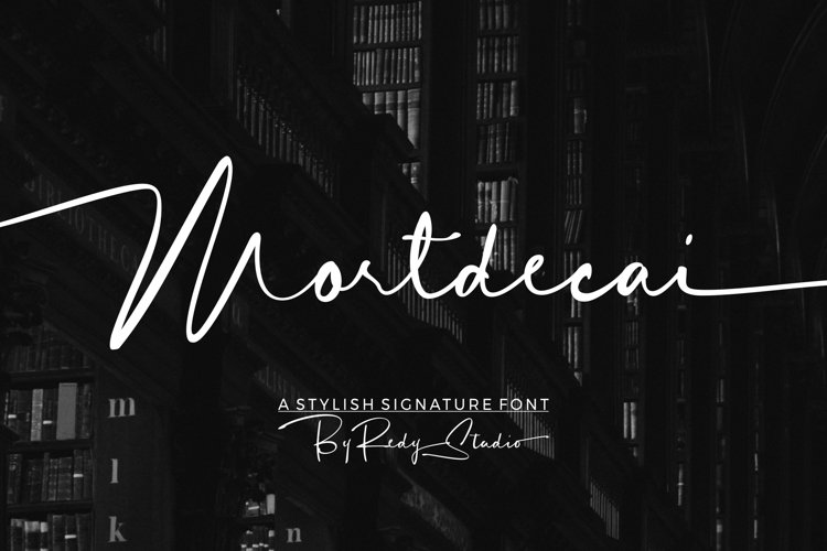 Mortdecai | Elrgant Signature example image 1