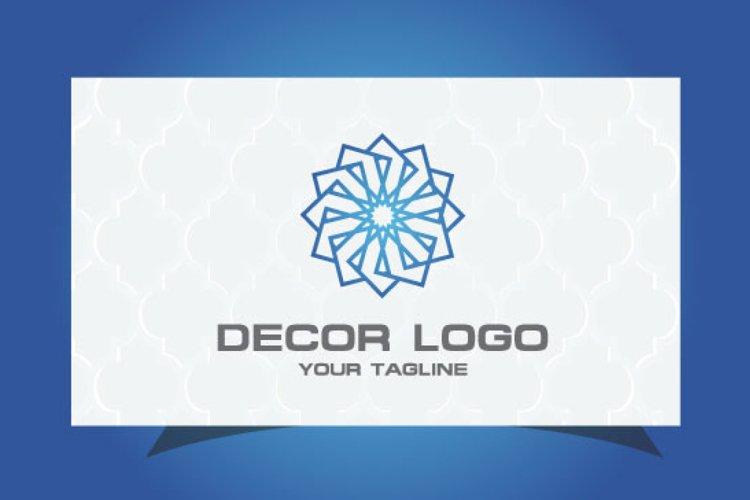 Decorative Logo example