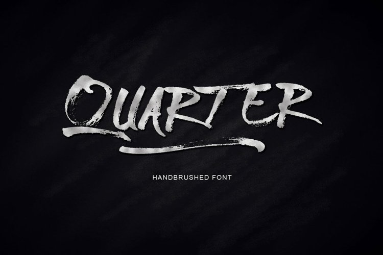 Web Font Quarter Font example image 1