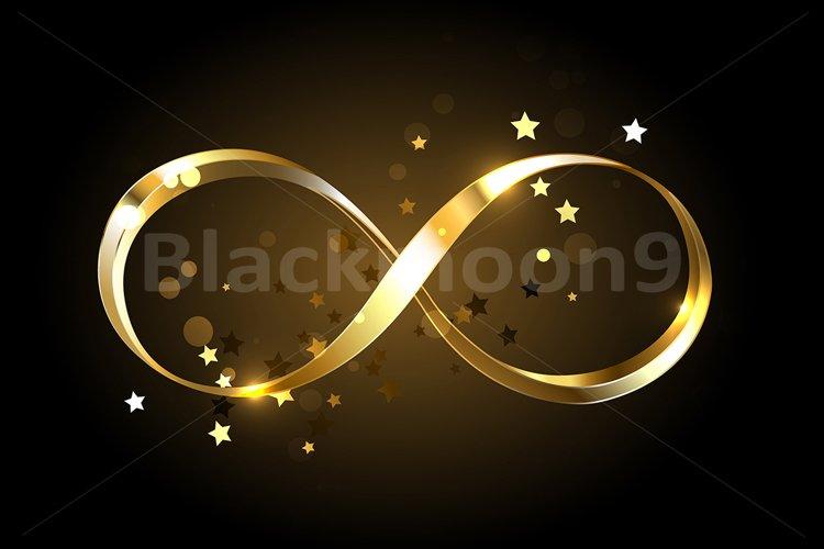 Golden Infinity Symbol example image 1