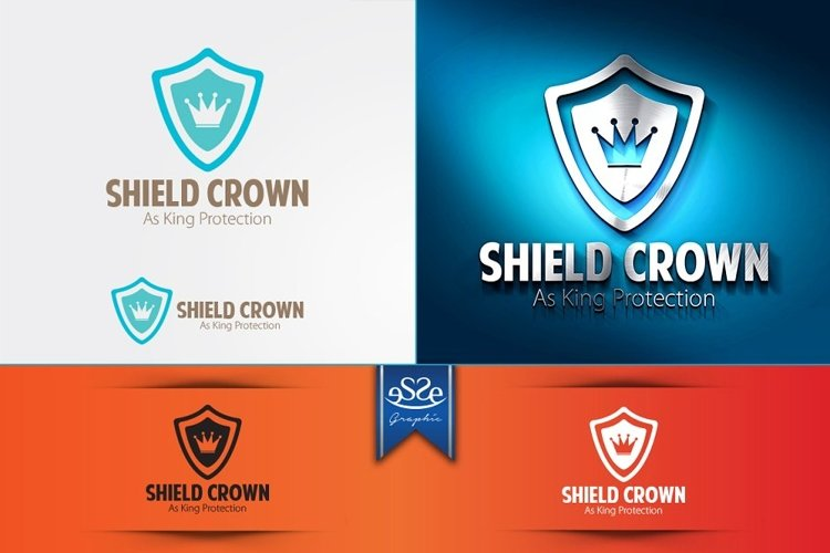 Shield Crown Logo example image 1