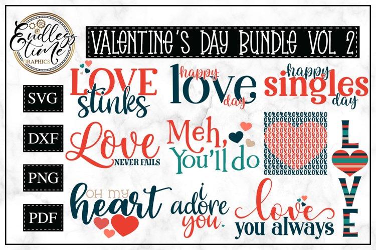 Valentine's Day Bundle Vol 2 | 10 Sublimation or SVG Designs example image 1