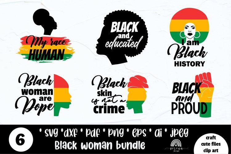 Black lives matters bundle svg. Black woman svg png eps example image 1
