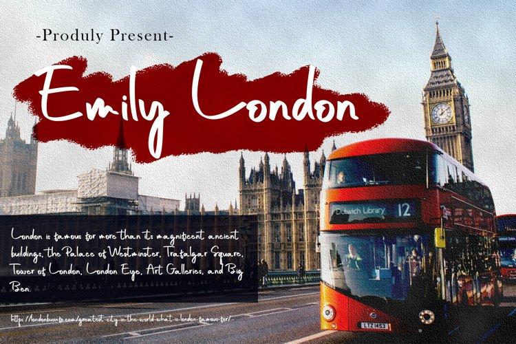 Emily London Font example image 1