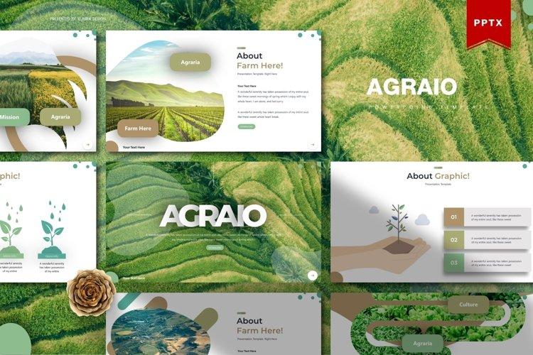 Agraio   Powerpoint, Keynote, Google Slides Template example image 1
