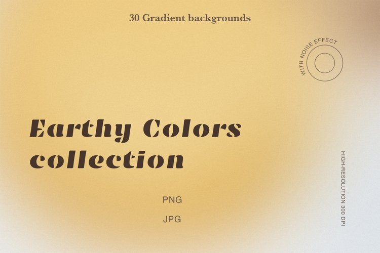 30 Gradient Backgrounds Earthy Color