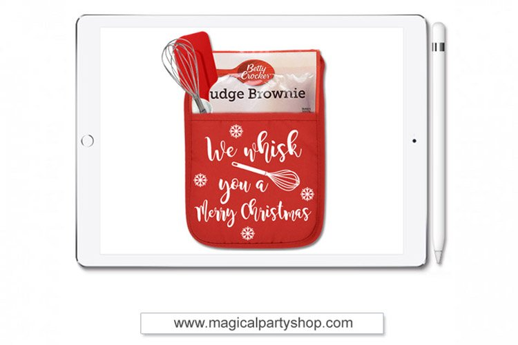 We Whisk You A Merry Christmas Svg Cut File example image 1