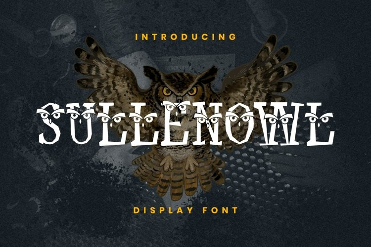 Sullen Owl Font example image 1