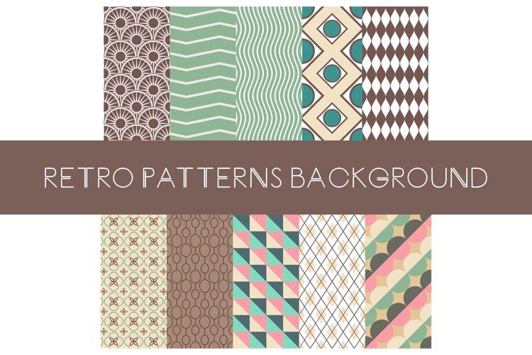 Retro color pattern
