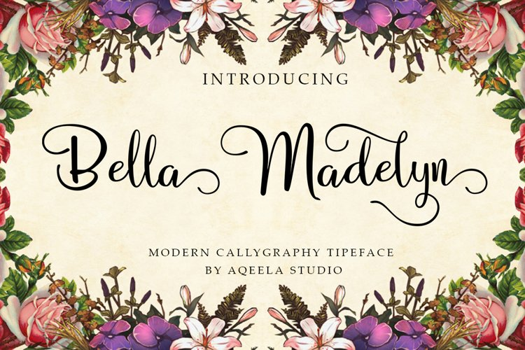 Bella Madelyn Script example image 1