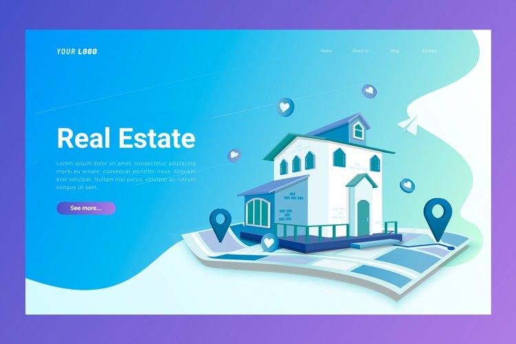 Real Estate- Landing Page example image 1