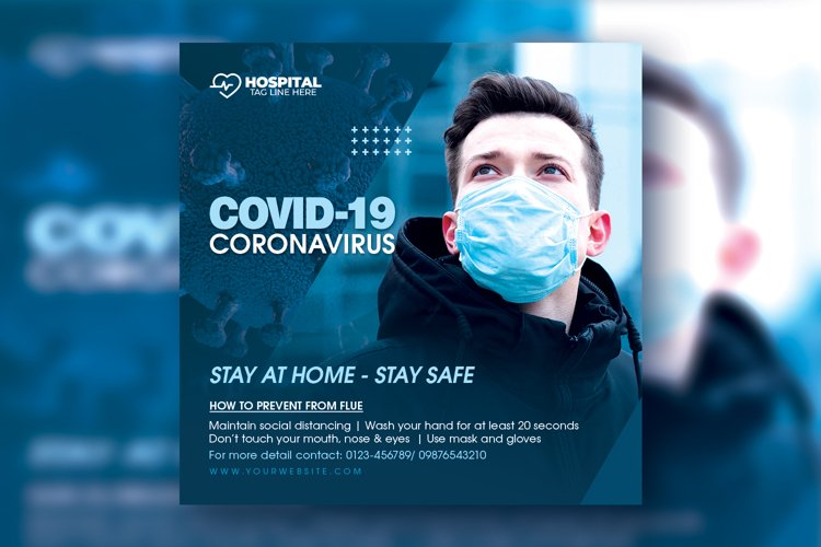 Covid-19 Flyer example image 1