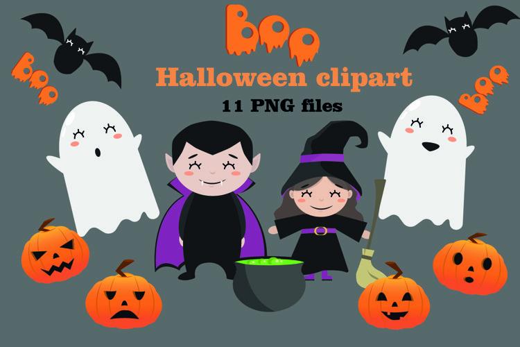 Hand drawn Halloween clipart, Halloween character