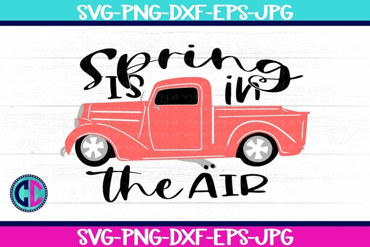 Spring svg, Spring Is In The Air svg
