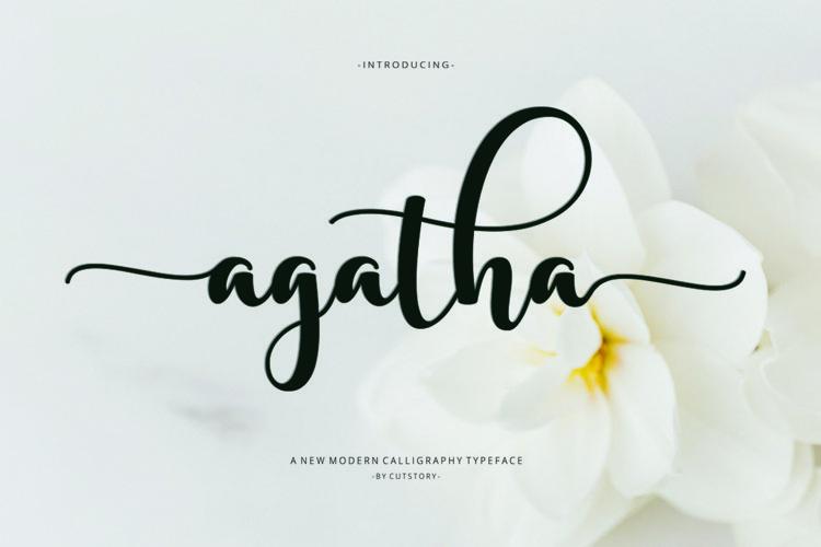 Agatha Script example image 1