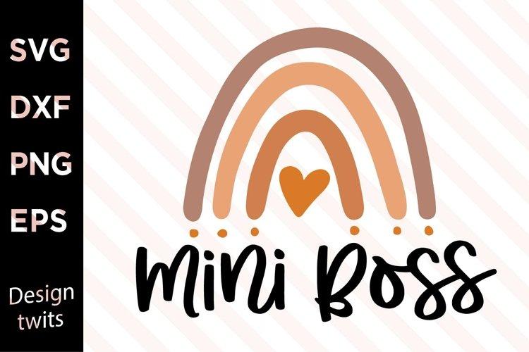 Mini Boss SVG example image 1