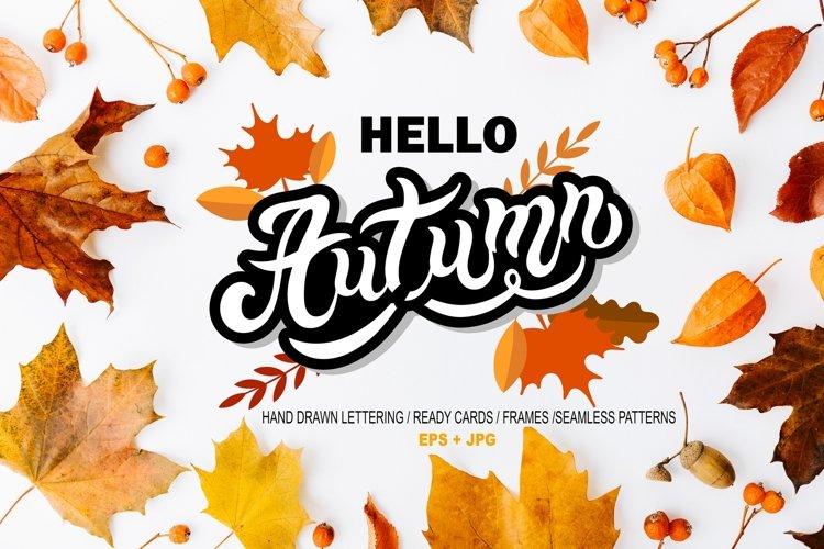 Hello Autumn Set example image 1