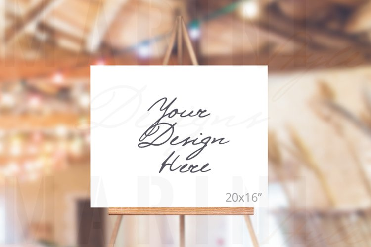 Easel Mockup, Wedding Sign Mockup, Welcome sign mockup, 994
