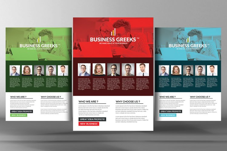 Business Idea Flyer Psd example image 1