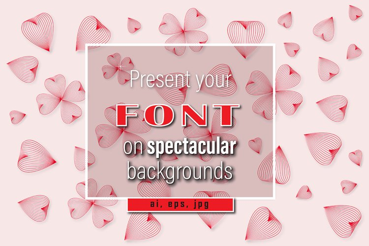 Mockup - Background - Love is beautiful example image 1