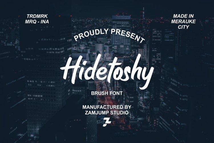 Hidetoshy example image 1