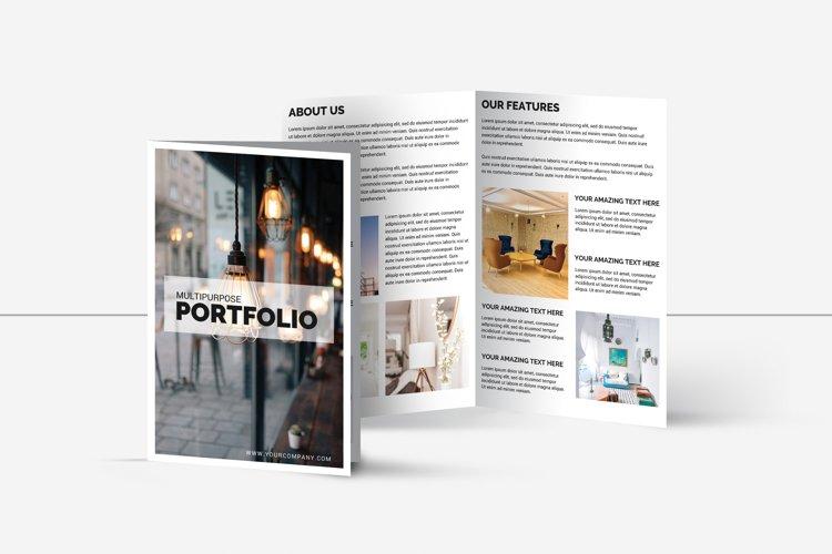 Multipurpose Bifold Brochure Template | Portfolio Brochure example image 1