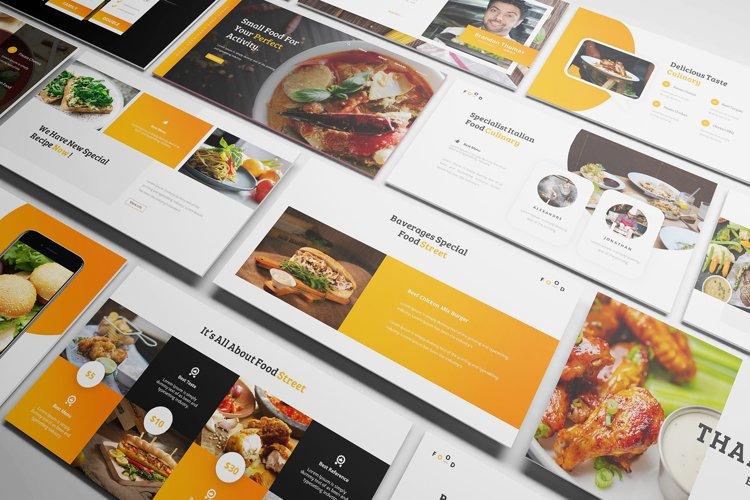 Street Food Google Slides Template example image 1