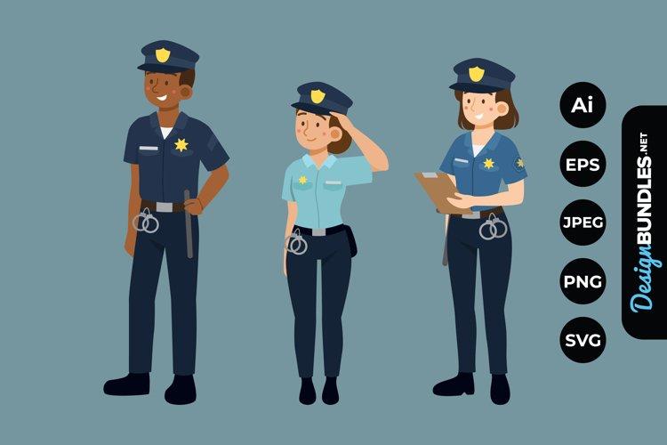 Police Illustrations