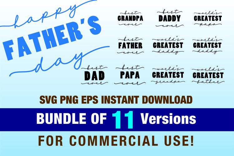 Fathers Day Digital Bundle - Best dad ever