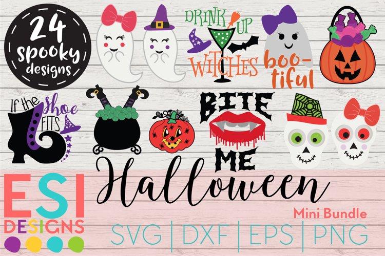 Halloween Designs Mini Bundle - SVG DXF EPS & PNG example image 1