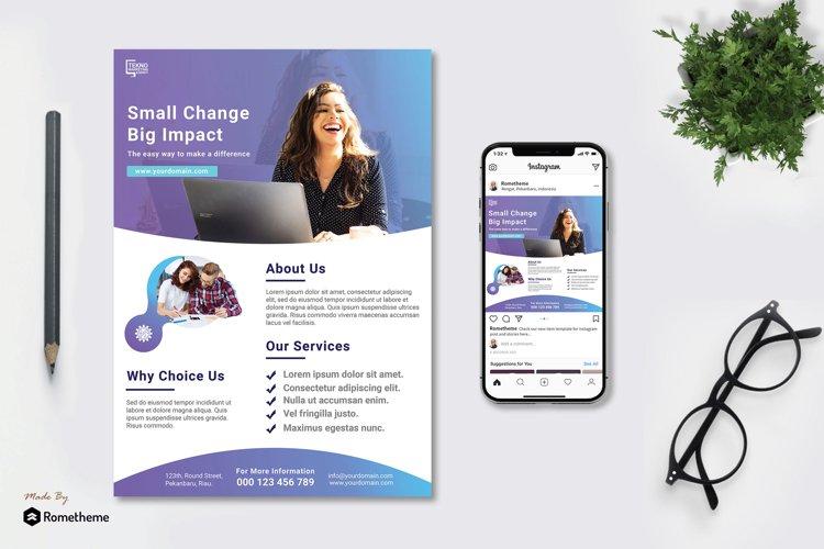 Digital Marketing Agency Flyer vol.01 example image 1